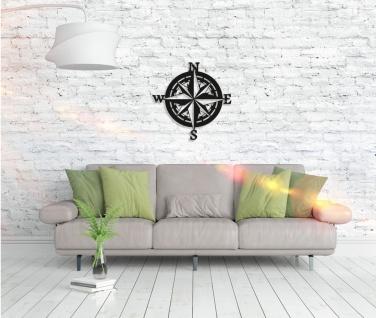 Metall Wandbild - Kompass - Vorschau