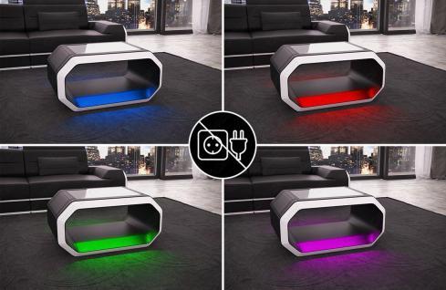 Couchtisch Roma mit moderner LED Beleuchtung - Vorschau 2