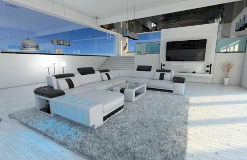 Design Wohnlandschaft Bellagio als XXL Version mit Bettfunktion - Vorschau 2
