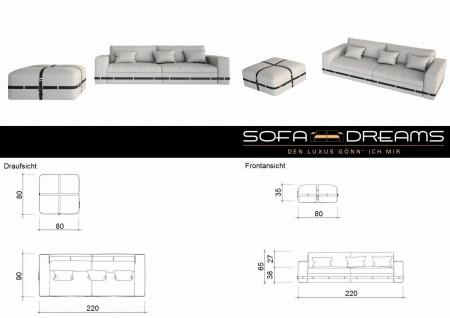 Sofagarnitur ARTESIA 3-Sitzer + 2-Sitzer - Vorschau 5