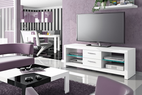 TV Rack Holz Merida