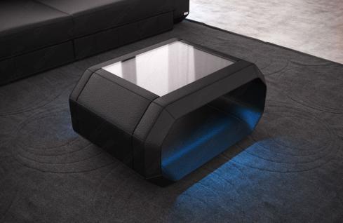 Couchtisch Roma ist ein Wohnzimmertisch mit Beleuchtung - Vorschau 1