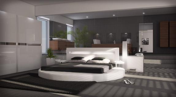 Designer Rundbett Night 180 x 200 cm
