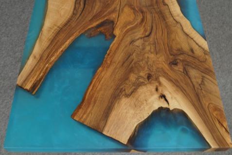 Couchtisch Holz Epoxidharz Mix River - Vorschau 3