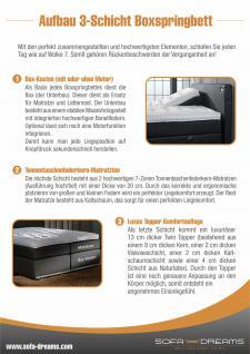 Van Landschoot Luxus Boxspringbett AOXLY S - Vorschau 3