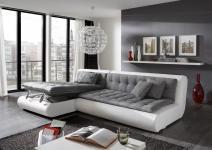 Designer Ledersofa Exit Eleven mit Stauraum und praktischer Schlaffunktion