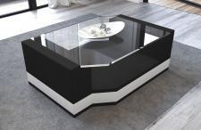 Couchtisch Messana mit einer Tischplatte aus Sicherheitsglas