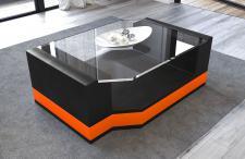 Luxus Wohnzimmertisch Messana als eleganter Glastisch für ihr Sofa