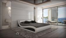 Luxus Wasserbett Komplett Set Softside Caserta