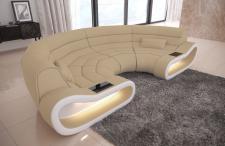 Bigsofa Stoff Megasofa Concept mit LED Beleuchtung