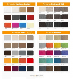 Chesterfield Stoff Couch Berlin L Form mit LED Beleuchtung erhältlich in verschiedenen Farben und hochwertigen Stoffbezügen. - Vorschau 5