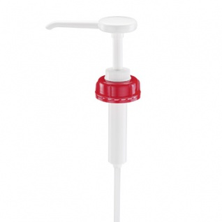 Dosierpumpe für Schuelke 5 + 10 Liter Desinfektionsmittel-Kanister. 20 ml Hub Kanisterpumpe