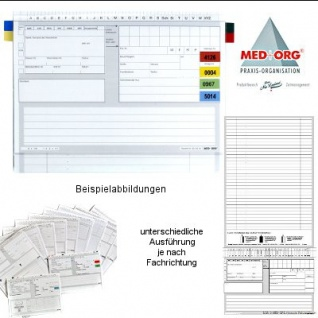 Karteitaschen ALPHAnorm. Med+Org. Veterinärmedizin (1000 Stück)