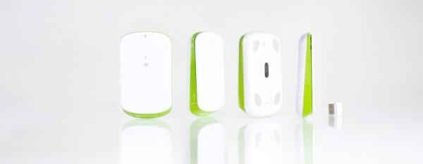 IC Mouse. Kabellose Hygiene-Funk-Mouse für den Praxis oder Labor PC