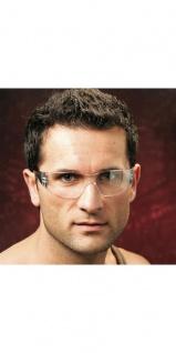 Labor-Schutzbrille farblos. für Werksbesucher. Montage- und Laborarbeiter. DIN EN166 1 FT