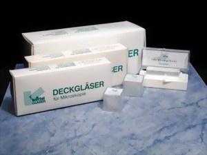 Deckgläser für die Mikroskopie 24 x 50 mm geschliffen (100 Stück)