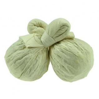 Thailändische Kräuterstempel. 2er Pack für den Körper. Baumwolle