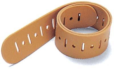EKG Elektroden Gummi Extremitäten Spannband 1-reihig. 45 x 3 cm