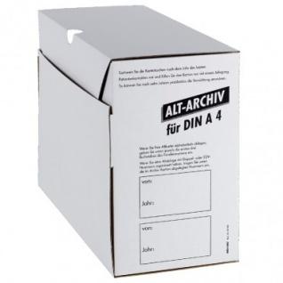 Alt-Kartei-Archivkarton DIN A4. für alle Fachgruppen (50 Stck.)