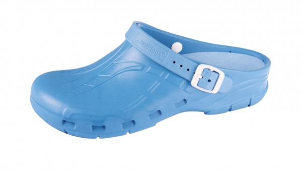 OP-Schuhe Medimex mediPlogs plus mit Fersenriemen und Einlegesohle. Farbe hellblau. hellblau. hellblau. Gr. 36 - 47 c8a404