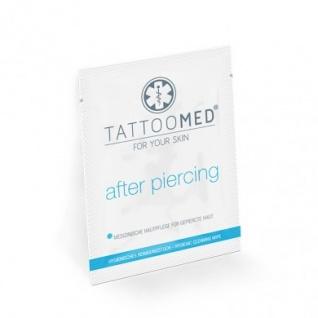 TattoMed after piercing Hygienetücher Sachet Spender (50 Tücher)