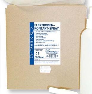 EKG Elektroden Kontaktspray. 5 Liter. ohne Alkohol - Grundpreis: 3.12 EUR pro l