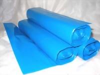 blaue Müllbeutel. 120 Ltr. (25 Stück) 70 x 110 cm. reißfeste Qualität. 0.05 mm. Material LDPE