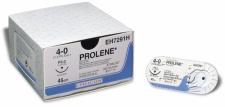 Nahtmaterial Prolene monofil blau 3-0. mit Nadel FS-1. 45 cm Faden (3 Dtz.) nicht resorbierbar