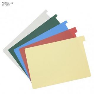 Signalkarten DIN A5 Alphanorm . TAB 10mm hoch (100 Stck.) verschiedene Farben. Med & Org