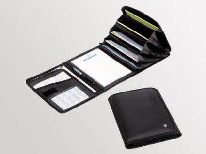 Formularmappe oder Rezeptmappe mit 9 Fächern. für den Hausbesuch. Farbe: blau oder schwarz