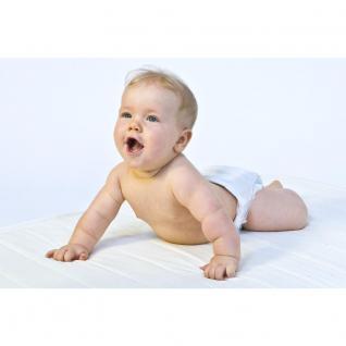 Baby Matratze Kinderbett Kindermatratze 70x140 cm mit Trittkante, Höhe 10 Babymatratze günstig - Vorschau 1