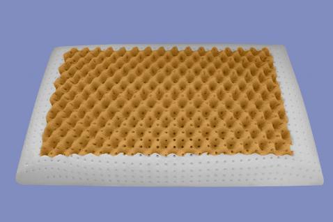 Orthopädisches Massage Gel Gelschaum Kopfkissen Air Massage Nackenstützkissen Kissen soft weich 80x40x12 cm