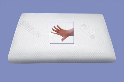 Orthopädisches Massage Gel / Gelschaum Kopfkissen / Nackenstützkissen / Kissen soft weich 80x40x12 cm - Vorschau 2
