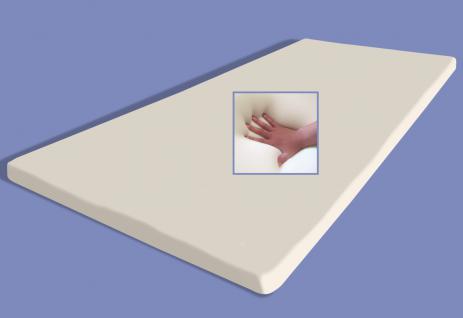 """Gel / Gelschaum Matratzenauflage """"Memory Foam"""" Höhe 5 cm RG 60 Matratzen Topper Auflage für Matratze"""