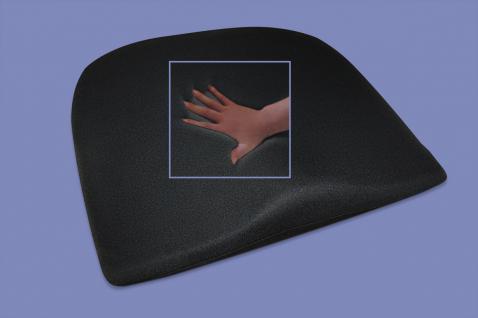 gel keilkissen gelkissen mit geleinlage visco sitzkissen. Black Bedroom Furniture Sets. Home Design Ideas