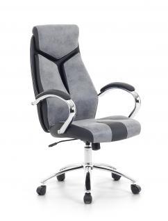 """Designer Chefsessel Bürosessel """"Formula"""" Farbe grau schwarz Bürostuhl Schreibtischstuhl bequem - Vorschau 1"""