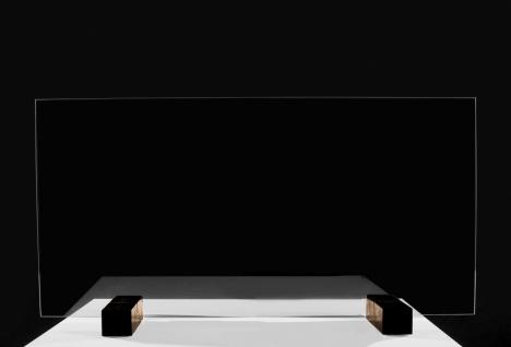 Sanitär Acrylglas Schutzwand Virenschutz Thekenaufsatz Hustenschutz Niesschutz Schutz vor Spucke für Kassen Theken Arztpraxis Apotheke Tankstelle - Vorschau 3