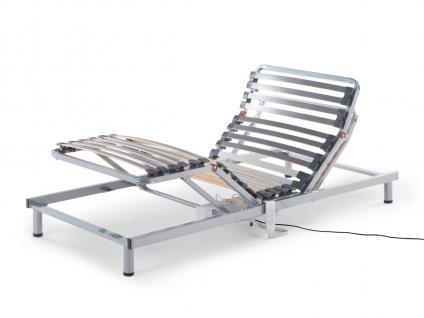 Elektrischer 7 Zonen Motor Lattenrost Lattenrahmen Komfort Aufstehhilfe Pflegebett Pflege Bett neu