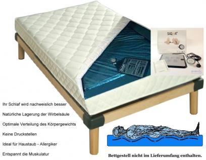 """Wasserbett Matratze """"Exklusiv"""" Höhe 16 cm komplette Wassermatratze mit Beruhigung mittel oder fest günstig - Vorschau 2"""