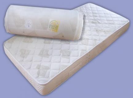 Inkontinenz Teflon Matratze Höhe 16 oder 20 cm, Latex + Kaltschaum mit wasserabweisender + schmutzabweisender Bezug - Vorschau 2