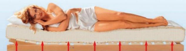 Breckle Komfortschaum Matratze Höhe 14 cm Schaummatratze super günstig H2 Mittel - Vorschau 2
