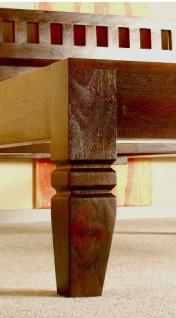 """Massivholz Bett """"Oxford"""" Holzbett Farbe nougat oder honig aus edlem massiven Akazienholz günstig - Vorschau 2"""