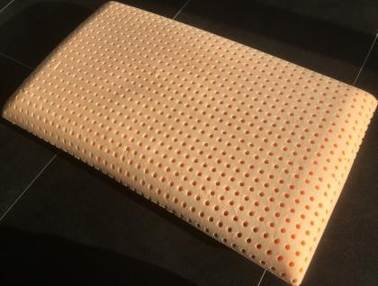 NEU waschbares Gel Gelschaum Kopfkissen Clean Memory 80 x 40 x 9 / 12 / 15 cm Kissen waschbar weich - Vorschau 5