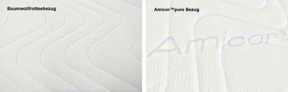 """Viskoelastische Matratze """"Dream Edition"""" Höhe 18 + 22 cm, 7 cm Visco / Visko RG 85 gegen Rückenschmerzen günstig - Vorschau 3"""
