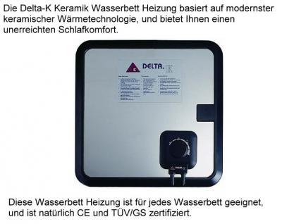 """Wasserbett Matratze """"Exklusiv"""" Höhe 16 cm komplette Wassermatratze mit Beruhigung mittel oder fest günstig - Vorschau 3"""