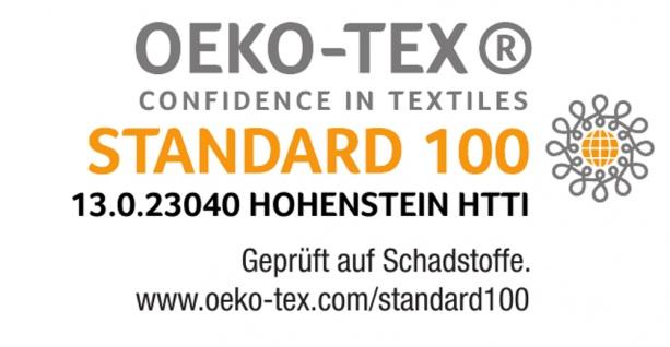 """Viskoealstische Matratzenauflage """"Relax"""" Höhe 4 / 5 / 7 cm Visco Topper Visko Auflage für Matratzen - Vorschau 4"""