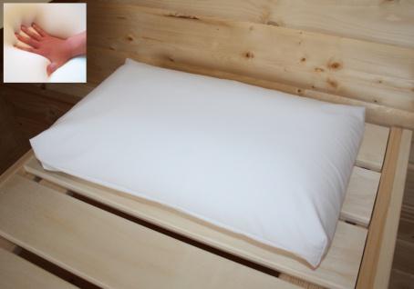 Gelschaum Kopfkissen Gel Schwimmbad Kissen für Badewanne Behandlung Reise Sauna 40 x 24 x 12 cm Saunakissen weich Reisekissen