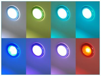 Luxus Whirlpool Badewanne Atlanta mit 17 Massage Düsen + LED + Heizung + Ozon + Glas für Bad weiss - Vorschau 3