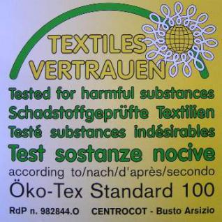 Inkontinenz Teflon Matratze Höhe 16 oder 20 cm, Latex + Kaltschaum mit wasserabweisender + schmutzabweisender Bezug - Vorschau 4