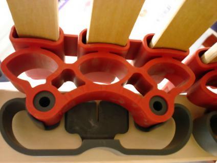 """7 Zonen Lattenrost Lattenrahmen """"DELUXE"""" 45 Federholzleisten Härtegrad + Kopf- und Fußteil verstellbar - Vorschau 4"""